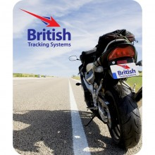 British Tracking Systems Motorcycle Tracker