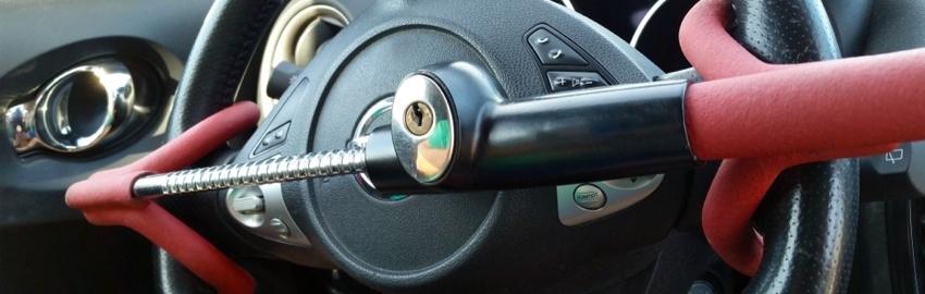 Get a Steering Wheel Lock