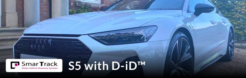 SmarTrack 5+ with D-iD™ (Including Remote Immobilisation)