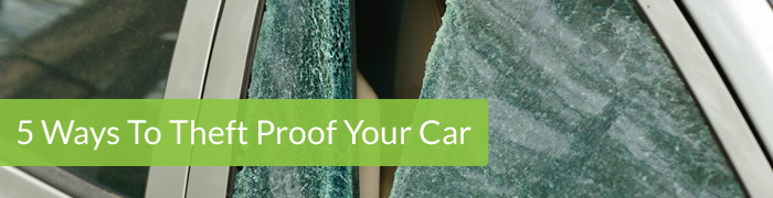 5 Ways to theft proof your car - Car trackers