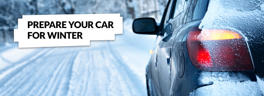 Prepare Your Car For Winter Graphic