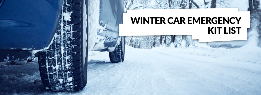 Winter Car Emergency Kit List