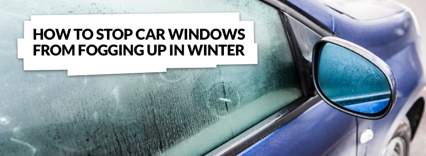 How to stop car windows from fogging up in the winter graphic
