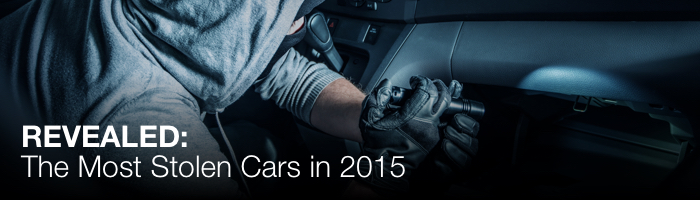 Revealed: The Most Stolen Cars in 2015