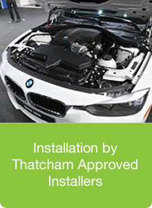 Installation by Thatcham Approved Installers
