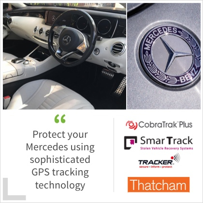 Protect your Mercedes using sophisticated GPS tracking technology