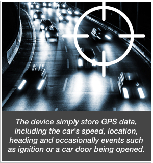 Passive Car Tracking