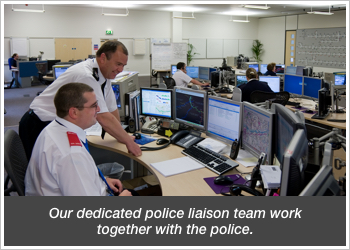 Trackerfit's dedicated police liaison team work together with the police