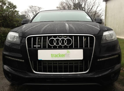 Black Audi Vehicle - TrackerFit