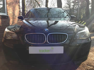 Black BMW Car - TrackerFit