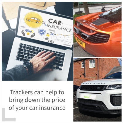 Trackers can help to bring down the price of your car insurance