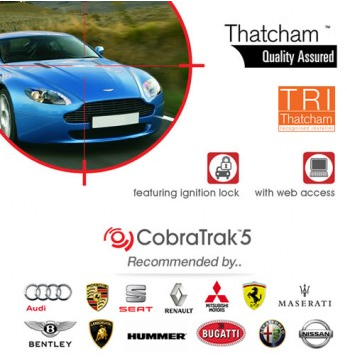 CobraTrak Cat 5 Web Thatcham Approved and recommended by Audi, Seat, Bentley and more
