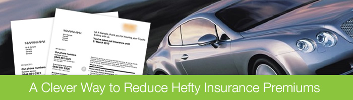 A Clever Way to Reduce Hefty Insurance Premiums