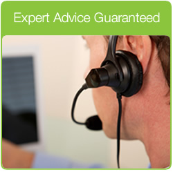 Expert advice guaranteed