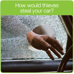 How would thieves steal your car?