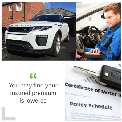 You may find your insured premium is lowered