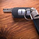 Car keys - never leave car keys visible
