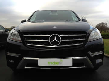 Black Mercedes ML - TrackerFit