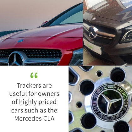 Mercedes CLA Tracker