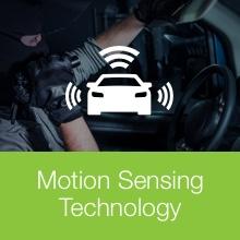 motion sensing graphic