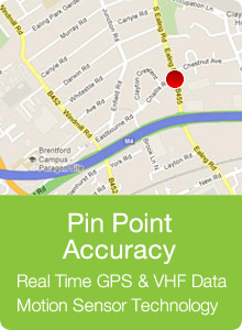 Tracker Fit - Pin Point Accuracy