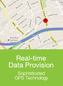 Tracker Fit - Real time data provision