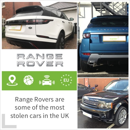 Range Rovers are some of the most stolen cars in the uk