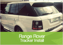 Recently Installed - Tracker Range Rover
