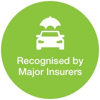 recognised by major insurers