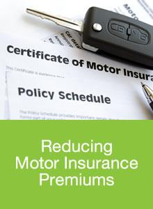 reducing motor insurance premiums