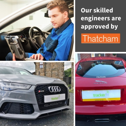 Our skilled engineers are approved by thatcham