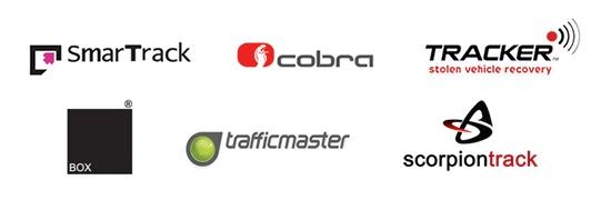 tracker brand logos