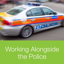 working with police